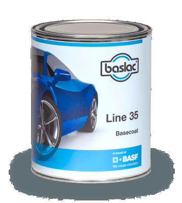 Basecoat 35, dvoslojni sistem za lakiranje vozila